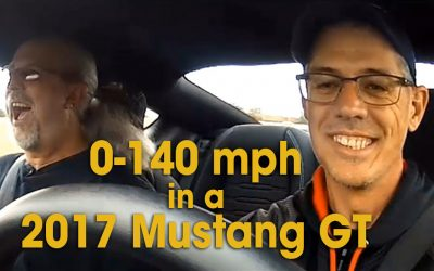 0 to 140 mph in a 2017 Mustang GT (S02E06)