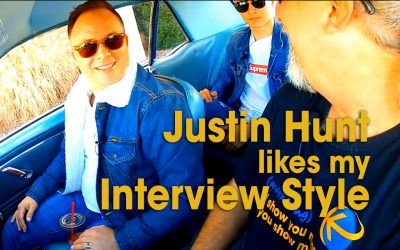 Justin Hunt Likes My Interview Style (S02E01)