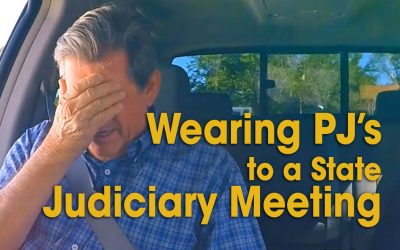 Wearing PJ's to a State Judiciary Meeting (S02E11)