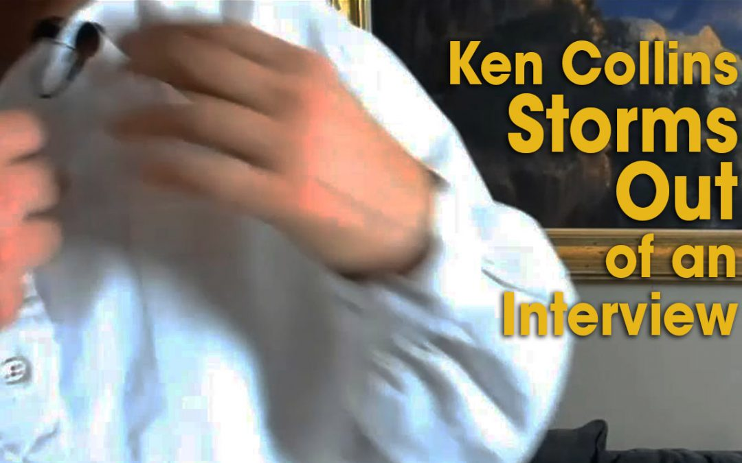Ken Collins Storms Out of Interview (S04E05)